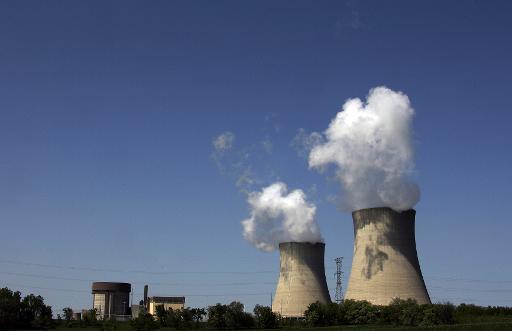 Une centrale nucléaire © AFP/Archives Jeff Haynes