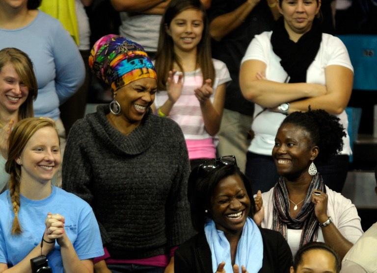 Etats-Unis, Chapel Hill : des étudiants heureux. Sara D. Davis/Getty Images/AFP
