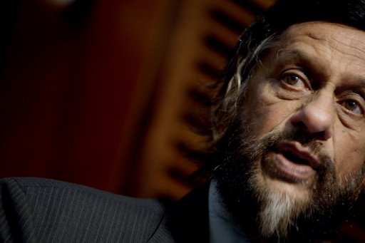 Chairman of the UN Intergovernmental Panel on Climate Change (IPCC), Rajendra Pachauri, speaks on June 6, 2011 in Oslo © SCANPIX NORWAY/AFP/File Stian Lysberg Solum