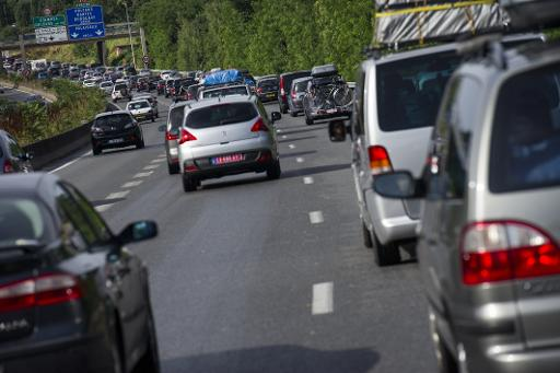 L'écoconduite permettrait aussi de réduire le nombre d'accidents © AFP/Archives Fred Dufour