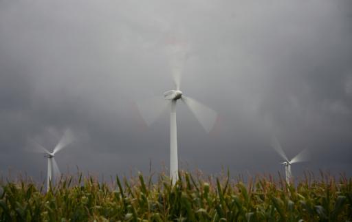 Des éoliennes © AFP/Archives Johannes Eisele