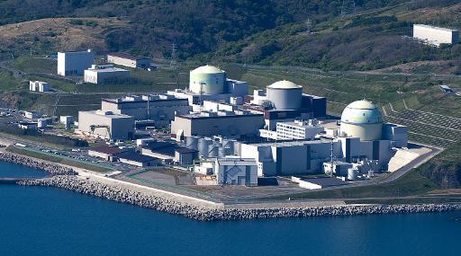 La Centrale nucléaire de Tomari sur l'île d'Hokkaido, au Japon © Jiji Press/AFP/Archives Jiji Press