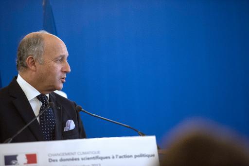 Le ministre des Affaires étrangères Laurent Fabius à Paris le 30 septembre 2013 © AFP Fred Dufour