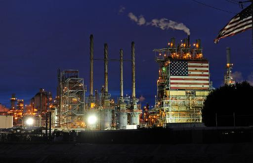 A view of the Carson refinery in Carson, California, March 2, 2011 © AFP/File Robyn Beck