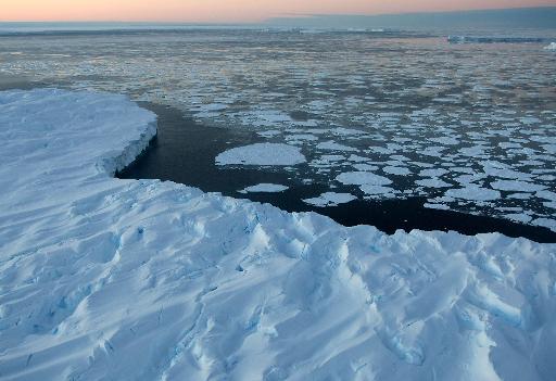 Vue de l'Antarctique australien © AFP/Archives Torsten Blackwood