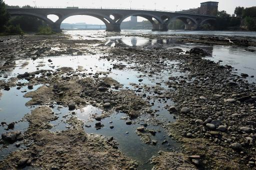 Vue de la Garonne, à Toulouse, le 11 septembre 2012 © AFP/Archives Remy Gabalda