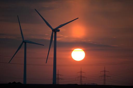 Des éoliennes en Allemagne © DPA/AFP/Archives Federico Gambarini