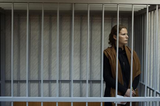 Greenpeace activist Ana Paula Alminhana Maciel from Brazil is seen at the Leninsky district court in Murmansk in a photo released on September 29, 2013 by Greenpeace International © Greenpeace International/AFP/File Dmitri Sharomov