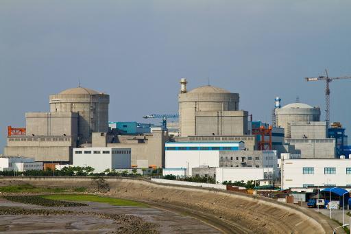 La centrale nucléaire de Qinshan, dans la province chinoise du Zhejiang, le 2 juin 2010 © AFP/Archives