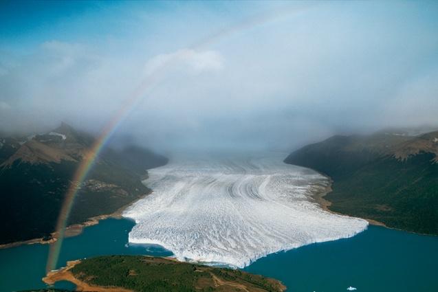 Glacier Perito Moreno, Patagonia, Argentine (50°31' S - 73°06' O).