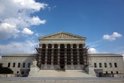La Cour suprême américaine, à Washington, le 5 octobre 2013 © AFP/Archives Mandel Ngan