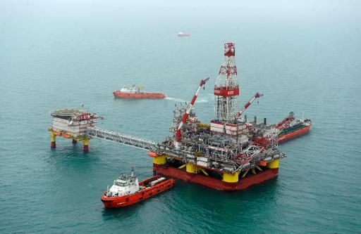 ne plateforme pétrolière russe sur la mer Caspienne © AFP/Archives Mikhail Mordasov