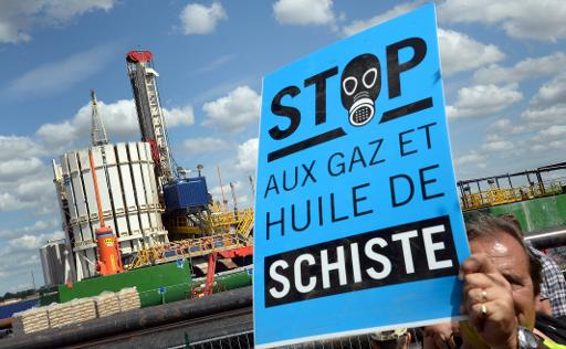 """Les activités d'exploration et d'extraction d'hydrocarbures non-conventionnelles par fracturation hydraulique doivent """"obligatoirement"""" faire l'objet d'une étude d'impact environnemental, a décidé mercredi le Parlement européen. © AFP/Archives Pierre Andrieu"""