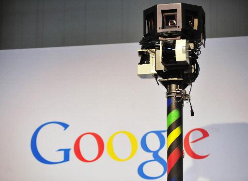 The camera of a street-view car on the Google street view stand at the world's biggest high-tech fair, the CeBIT in the northern German city of Hanover, on March 3, 2010 © AFP/File Daniel Mihailescu