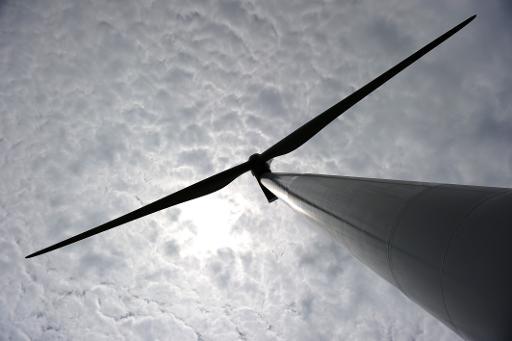 Le premier parc éolien