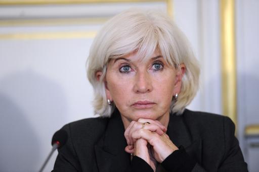 La négociatrice française sur le réchauffement climatique Laurence Tubiana, le 29 novembre 2012 à Paris © AFP/Archives Bertrand Guay