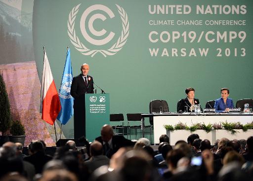 Le ministre polonais de l'Environnement Marcin Korolec, à Varsovie, le 11 novembre 2013  © AFP Janek Skarzynski