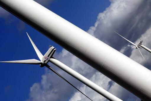 Un champ éolien à Caurel © AFP/Archives Fred Tanneau