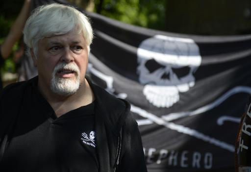 A picture taken on May 23, 2012 shows Canadian environmental activist Paul Watson, founder and president of the Sea Shepherd Conservation Society © AFP/File Odd Andersen
