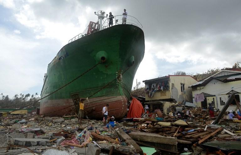 victimes du cylone Haiyan