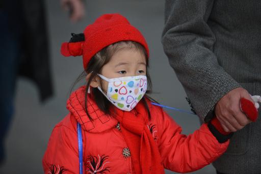 heavy air pollution in shangai