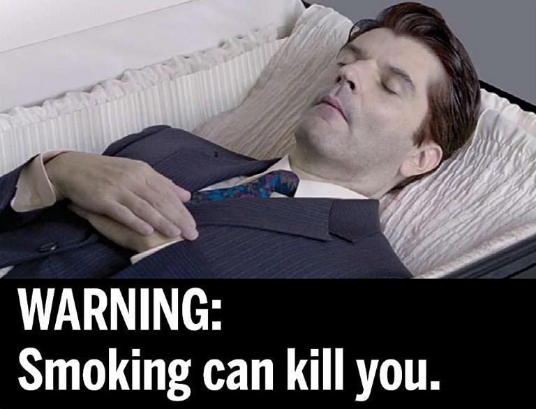 Campagne de l'administration américaine contre le tabagisme © AFP PHOTO/HANDOUT/FDA