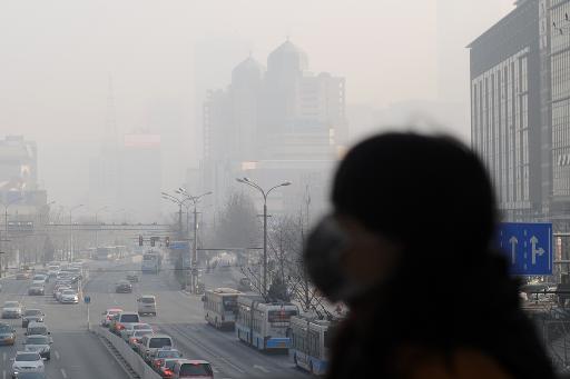 La pollution en Chine détectée depuis l'espace