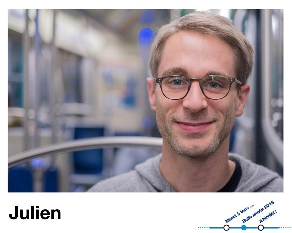 Julien de Premiers métros © Julien