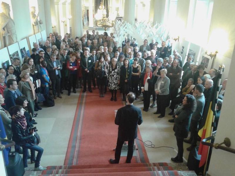 Exposition photographique WAW 2015 au Sénat à Bruxelles © GoodPlanet Belgium