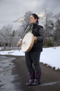 Marilyn Baptiste au Little Fish Lake Photo : Goldman Environment Prize