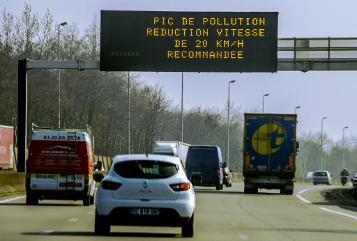 pollution en ile de france