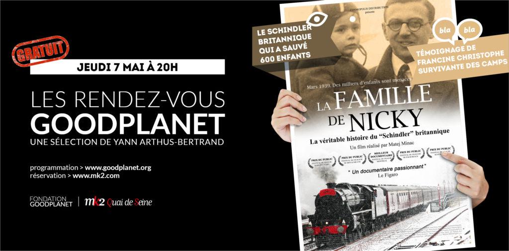 Banniere GoodPlanet - mai - La Famille de Nicky