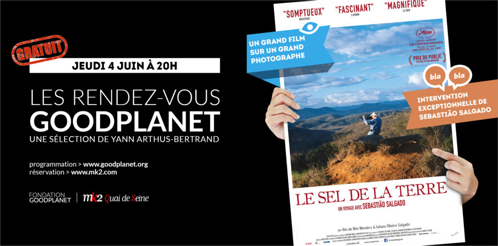Banniere GoodPlanet - juin - Le Sel de la Terre