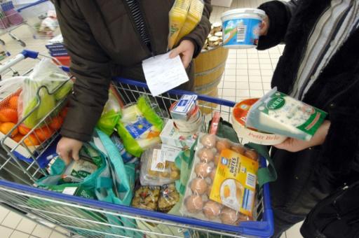 La ministre de l'Ecologie, Ségolène Royal, a convoqué la grande distribution pour l'inciter à faire davantage pour lutter contre le gaspillage alimentaire. © AFP/Archives Mychele Daniau