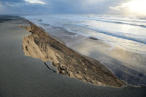 érosion du litoral