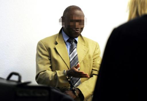 Straton Musoni lors de son procès le 4 mai 2011 à Stuttgart © DPA/AFP/Archives BERND WEISSBROD