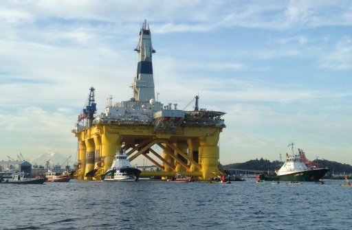 Shell forages Arctique
