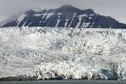 glaciers du spitzberg