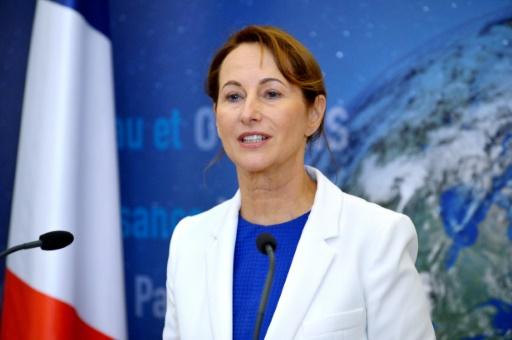 La ministre de l'Ecologie Ségolène Royal lors d'une conférence de presse à Paris le 30 septembre 2015 © AFP/Archives Eric Piermont