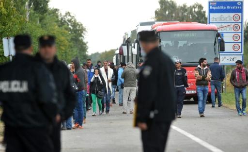 migrants bus