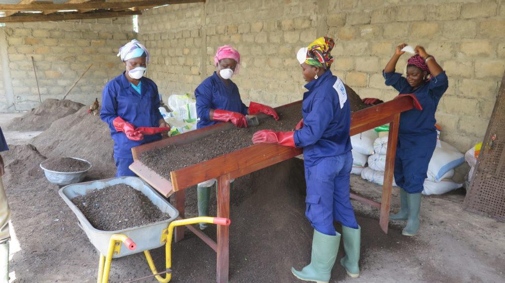 La pateforme agricompost à Lomé au Togo © Fondation GoodPlanet