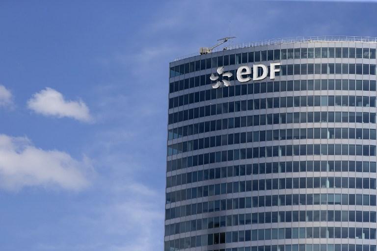 La tour EDF à la Défense, le 4 août 2015