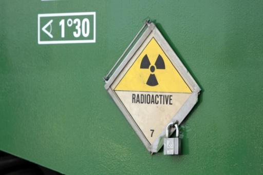 convoi de dechets radioactifs