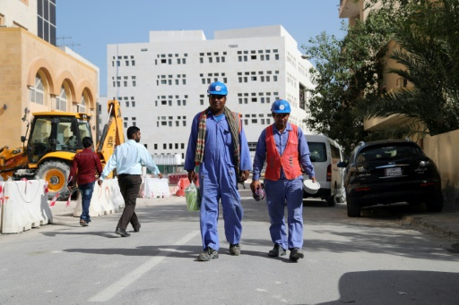 quatar travailleurs