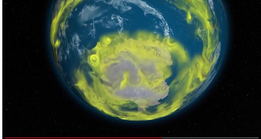 De nouvelles menaces sur la couche d 39 ozone magazine goodplanet info - Couche d ozone en anglais ...