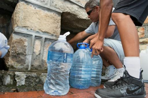 crise de l'eau