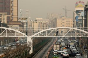 pollution iran
