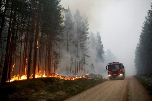 incendies en suede