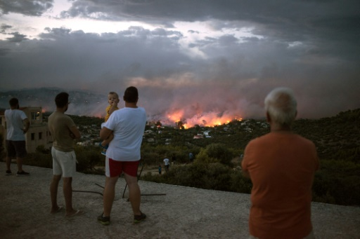 incendies grece