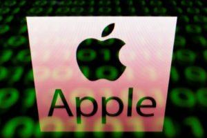 apple fonds verts